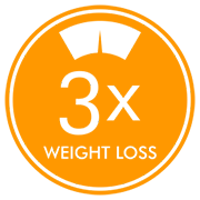 3x the weight loss